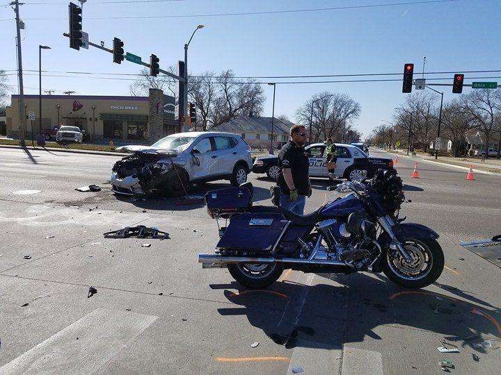 Two Hurt in Three Vehicle Crash