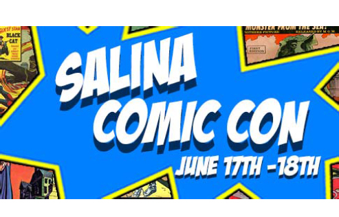 Salina Comic Con: Comics, Collectibles, and Cosplay