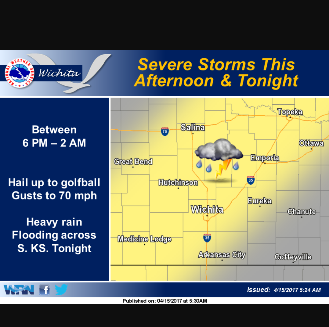 Saturday Storms Could Develop