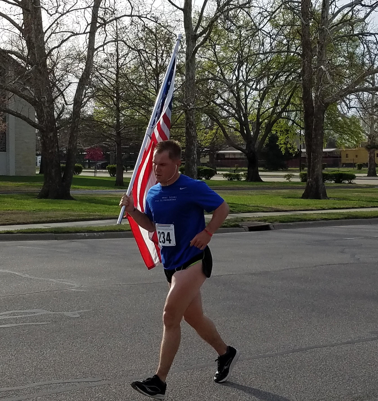 Fallen Hero Run at Fort Riley