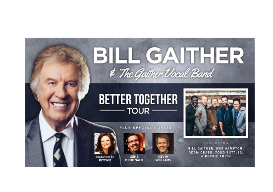 Bill Gaither Coming to Salina