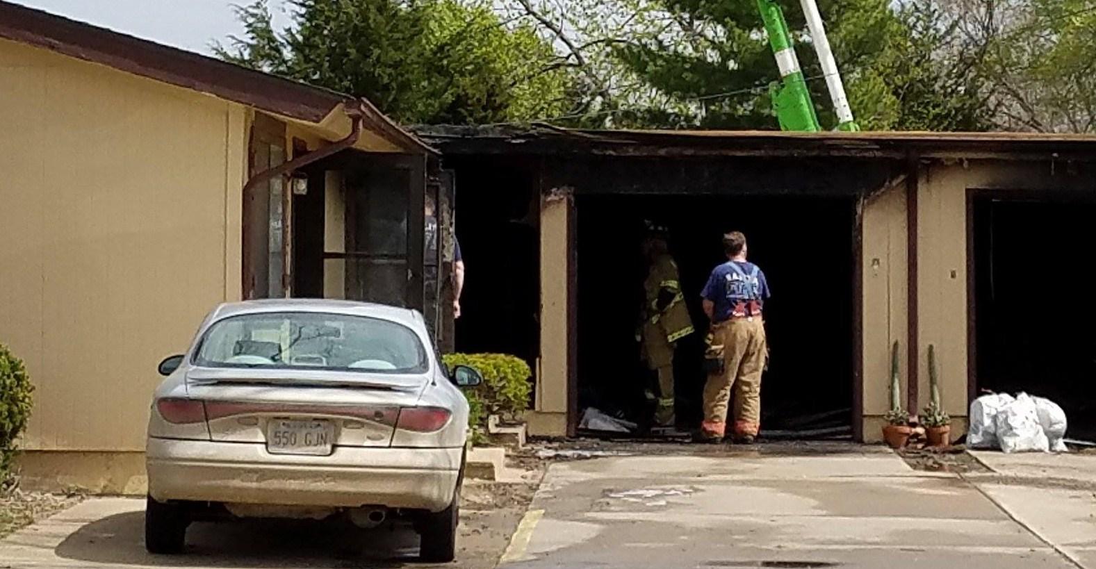 Fire Damages Salina Apartment Fourplex