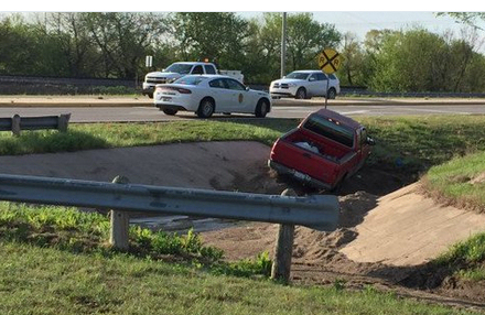Wrong-Way Pursuit on Interstate 135