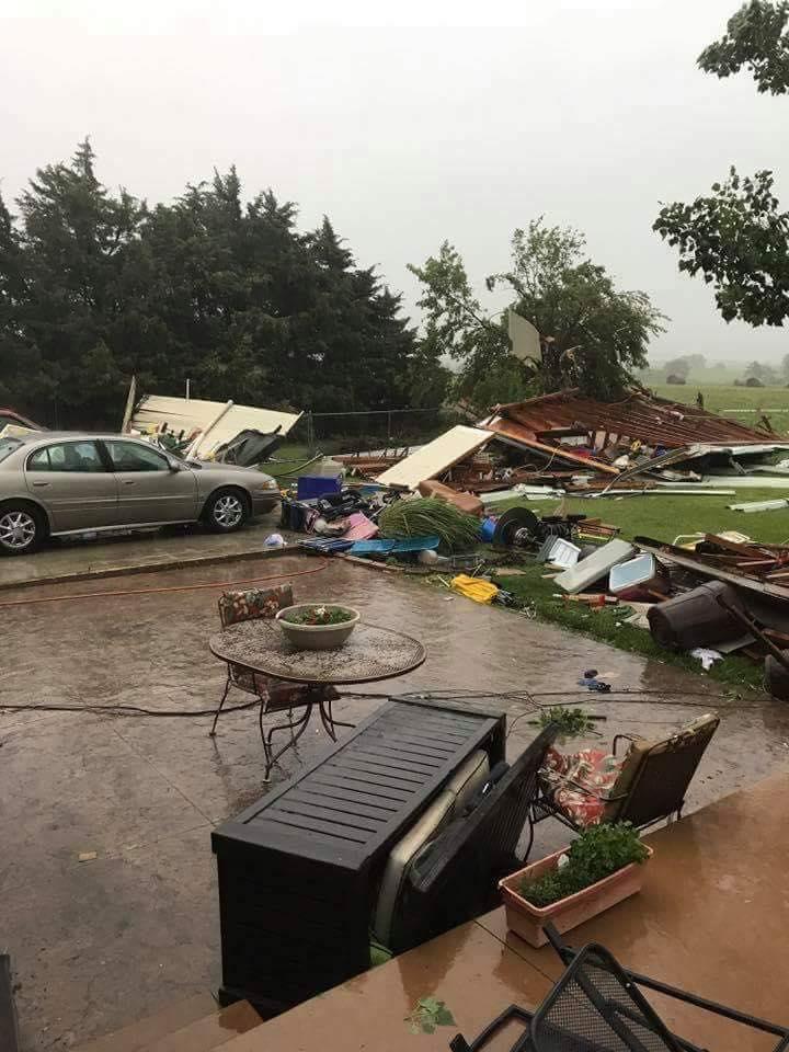 Damaging Storms Roll Through Salina