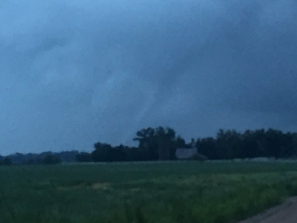 Damaging Severe Weather Rolls Across Kansas