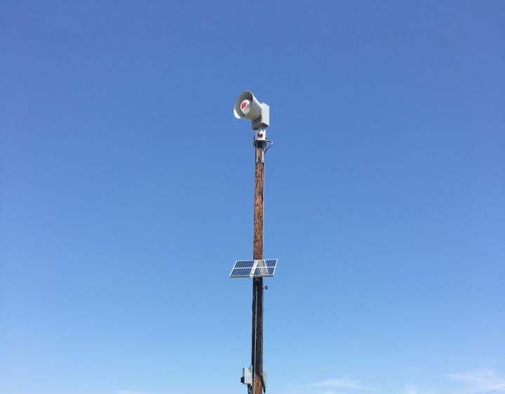 Upgraded Outdoor Warning Sirens Going Up