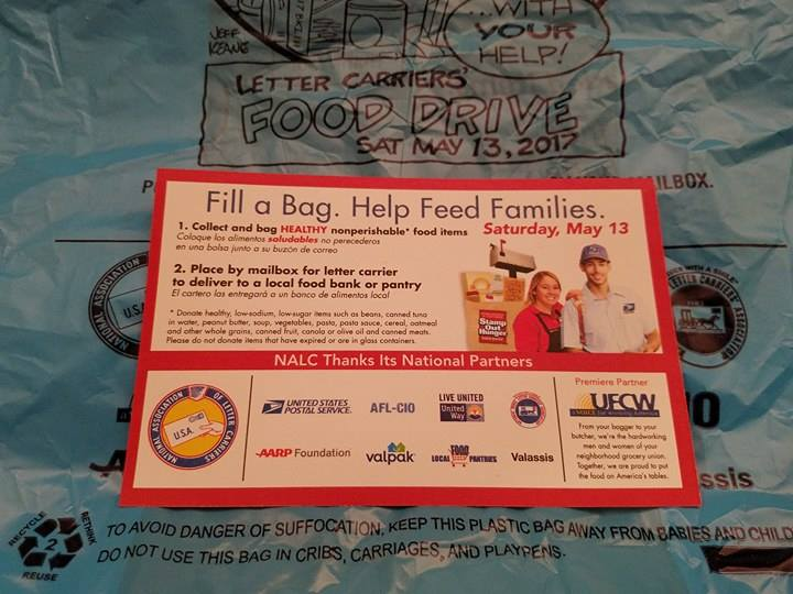 """Salina Strives to """"Stamp Out Hunger"""""""