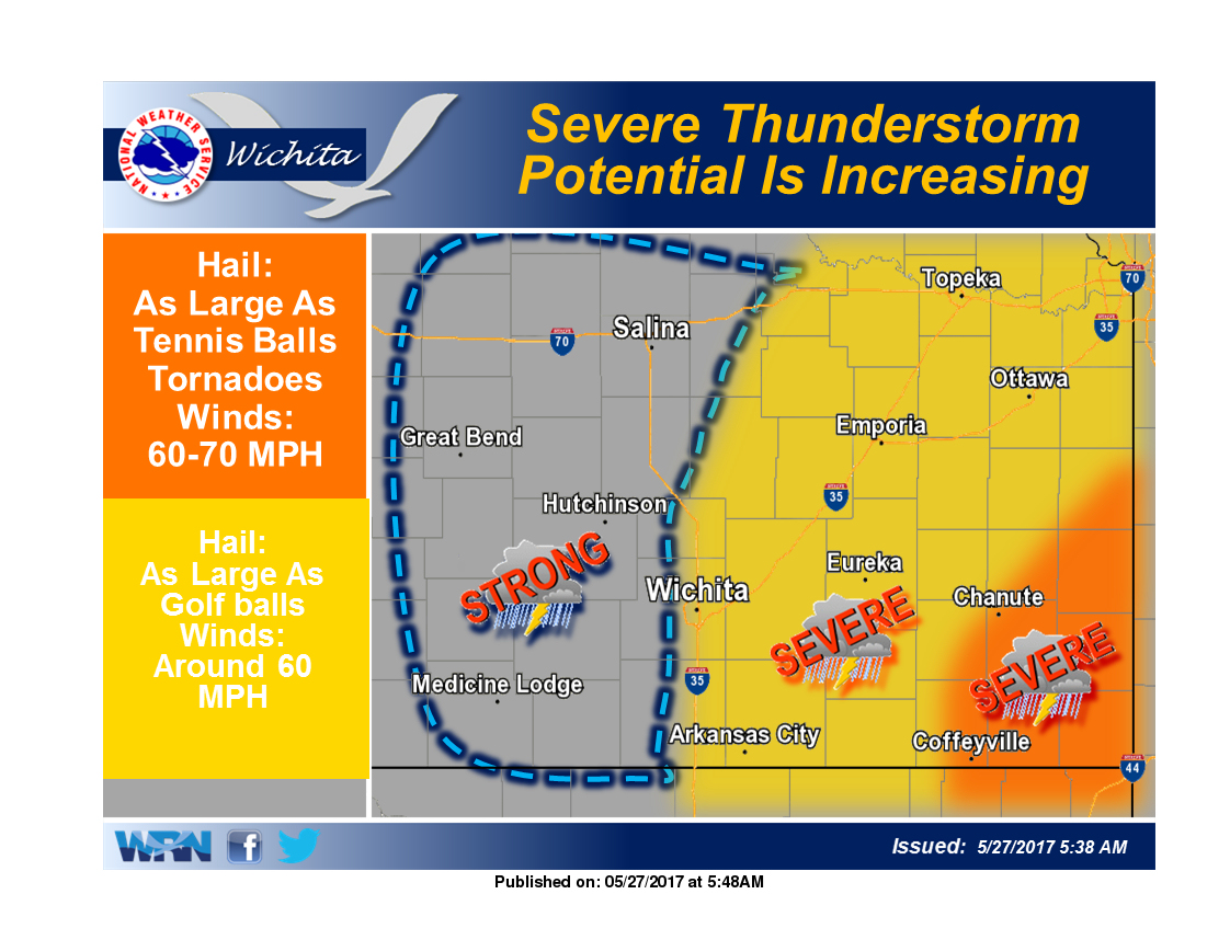 Saturday Severe Weather Early, Then Later