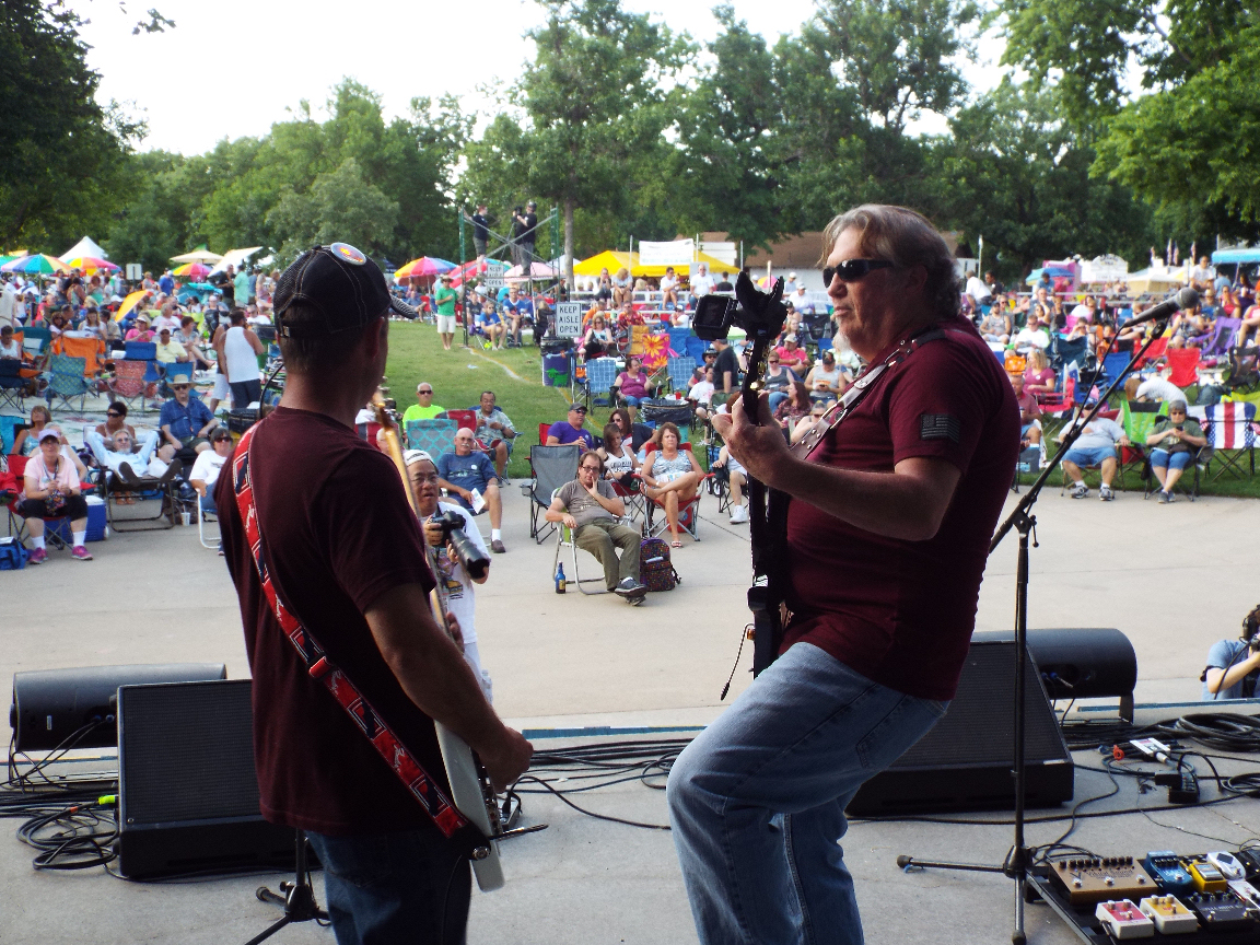 Jam Kicks Off Smoky Hill River Festival