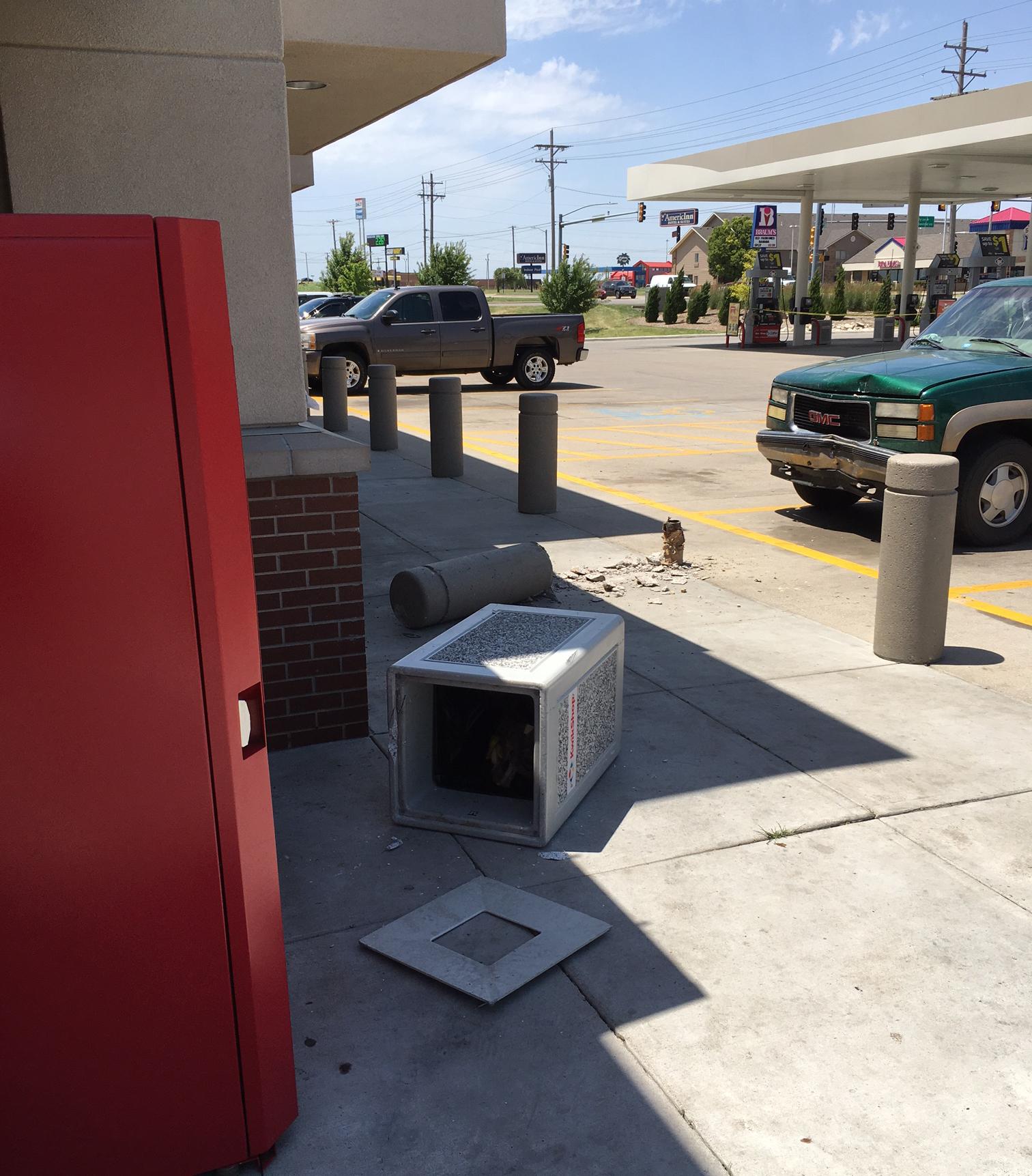 SUV Hits Salina Convenience Store