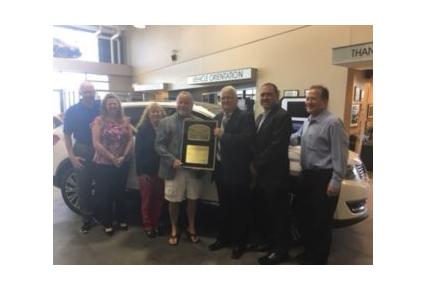 Long McArthur Dealership Wins Award