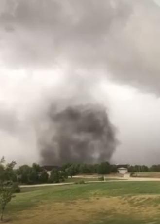 VIDEO: Tornadic Storm Causes Damage in East Salina