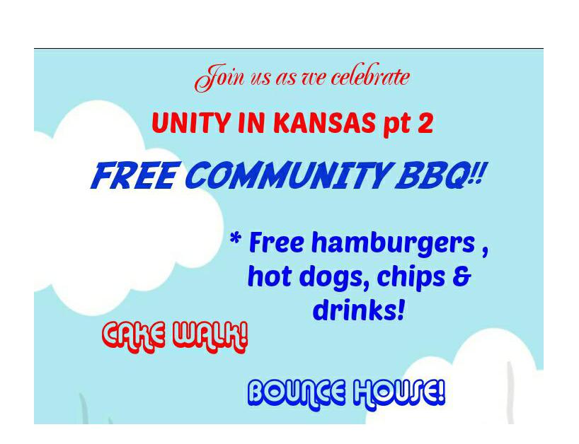 Community Invited to Unity BBQ