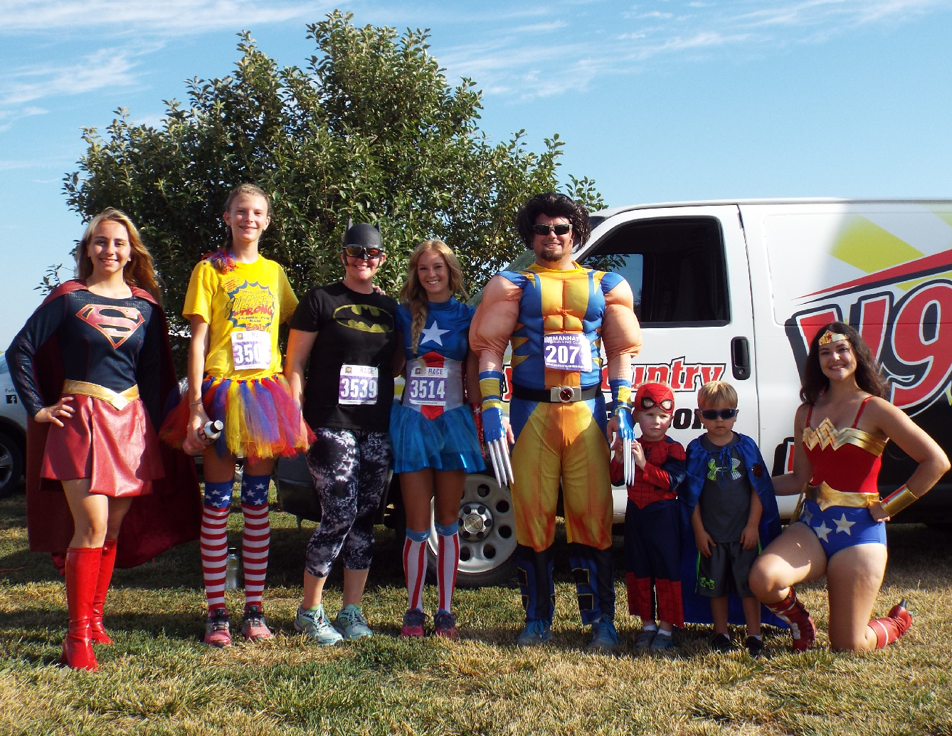PHOTO GALLERY: Super Heroes Fighting Cancer
