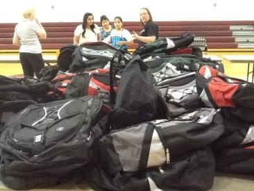 Organizers Preparing Back To School Fair
