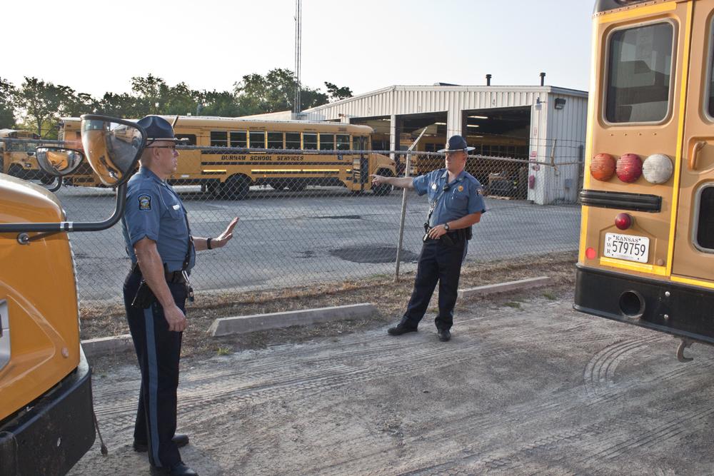 Troopers Begin School Bus Inspections