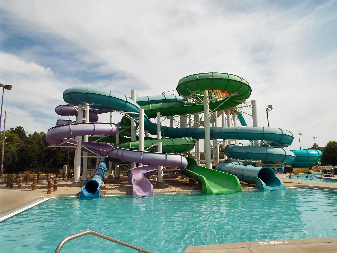Kenwood Cove Water Slides Stay Open For Business