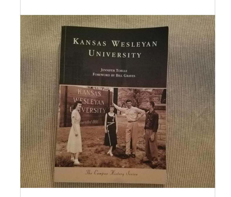 New Book Celebrates Kansas Wesleyan's History