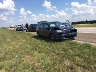 Interstate 70 Accident Sends Four to Hospital