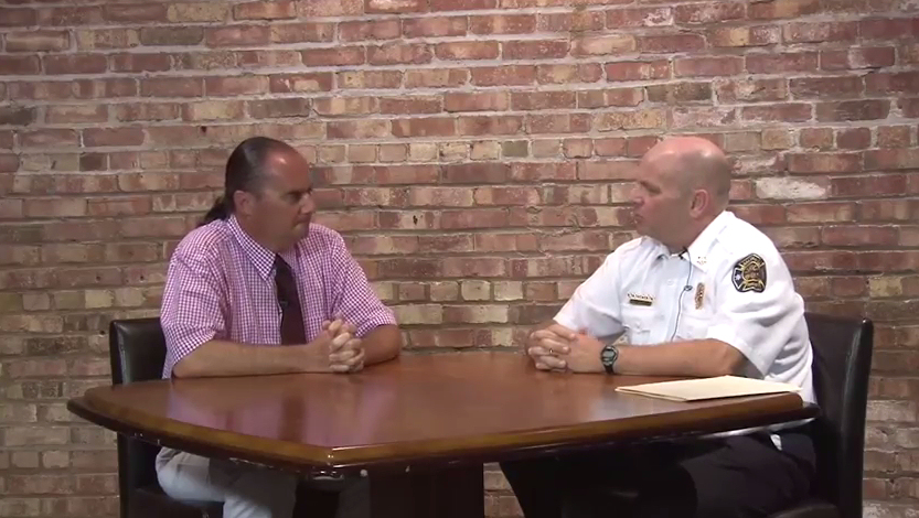 A Chat With Salina's Fire Chief