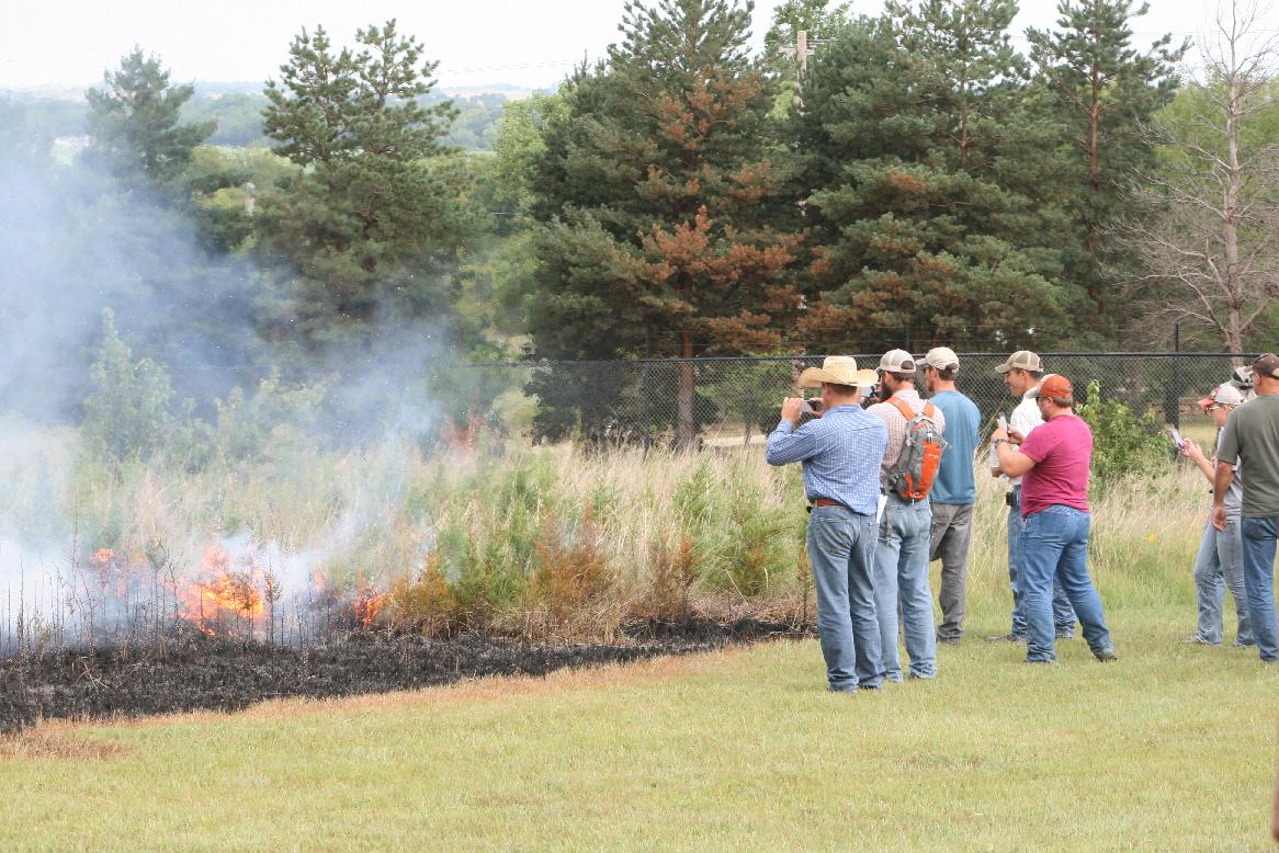Zoo Hosts Educational Burn Event