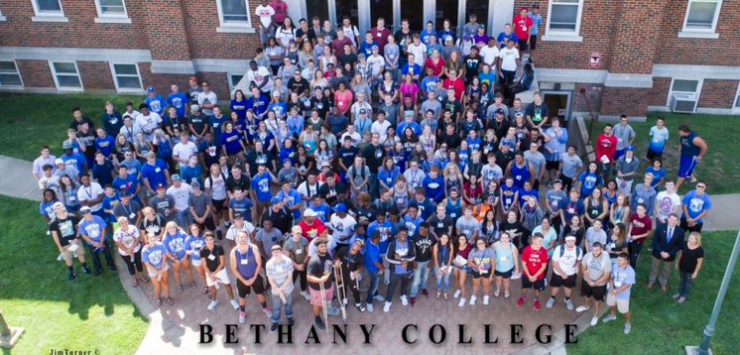 more students at bethany college