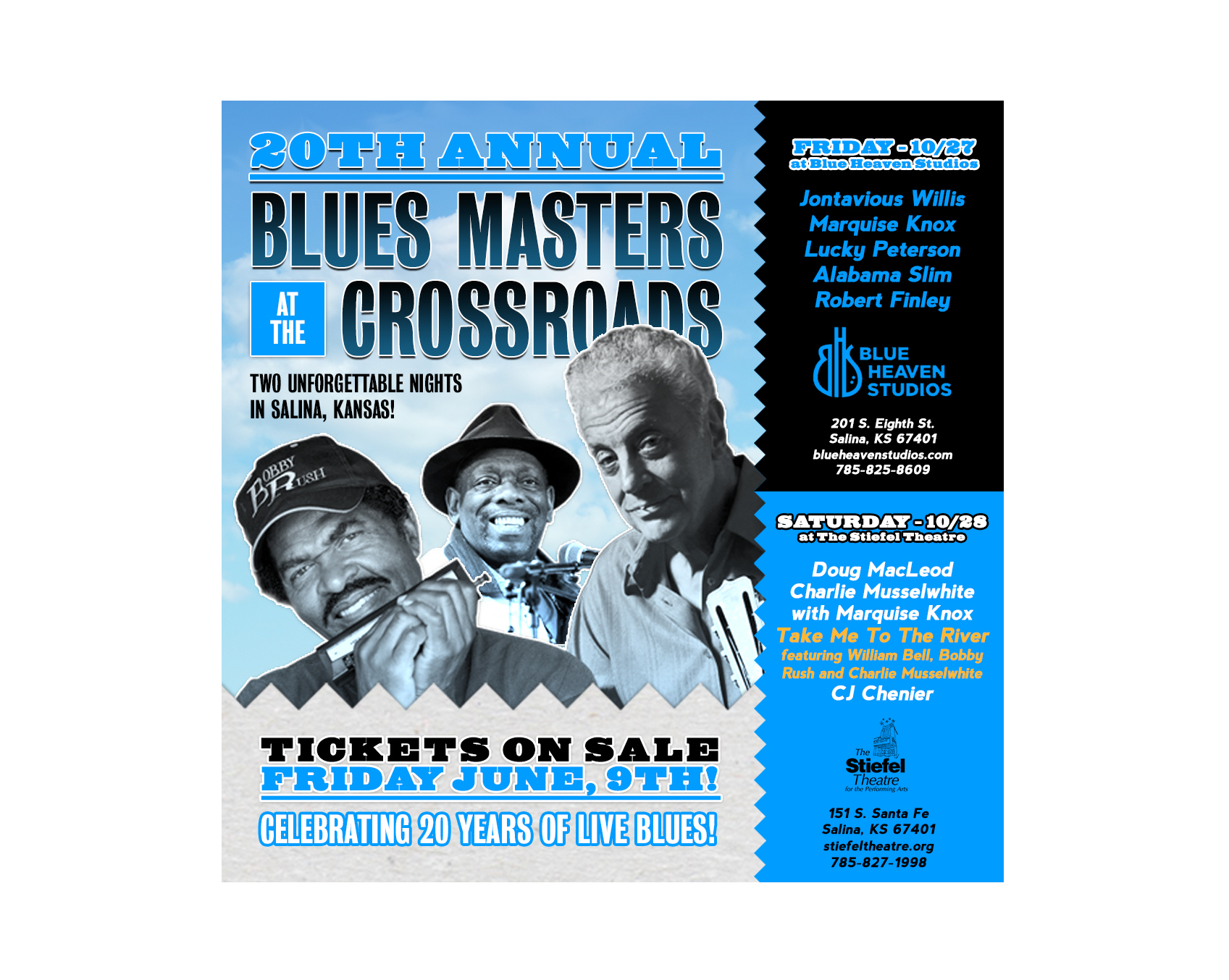 Excitement Building For 20th Anniversary Blues Masters