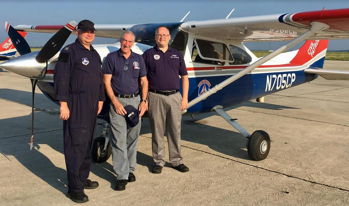 Kansas Civil Air Patrol Flying Hurricane Missions