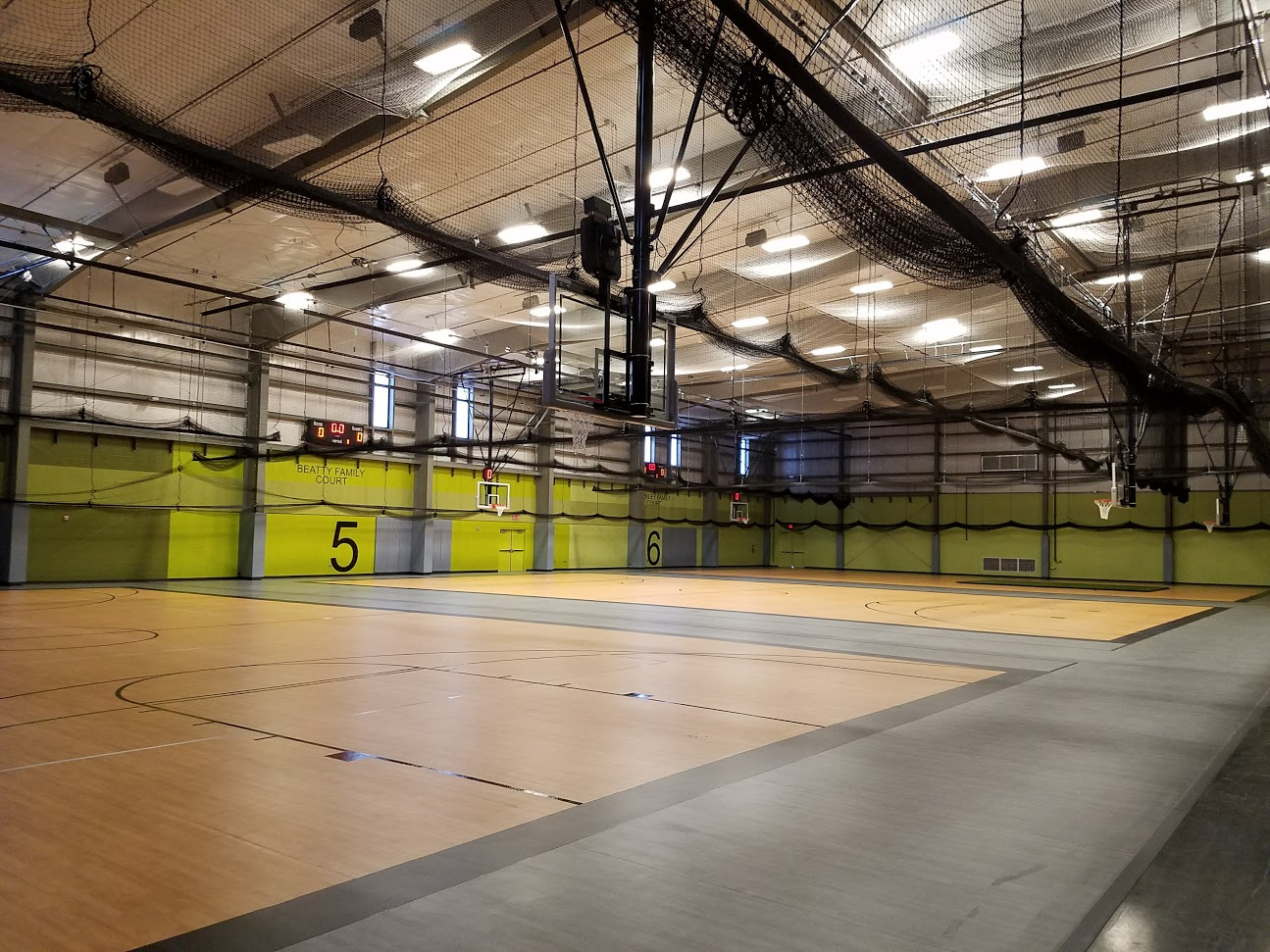 "Fieldhouse ""Drop In"" Program Begins"