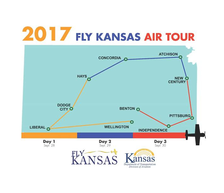 Fly Kansas Air Tour Takes Off This Week