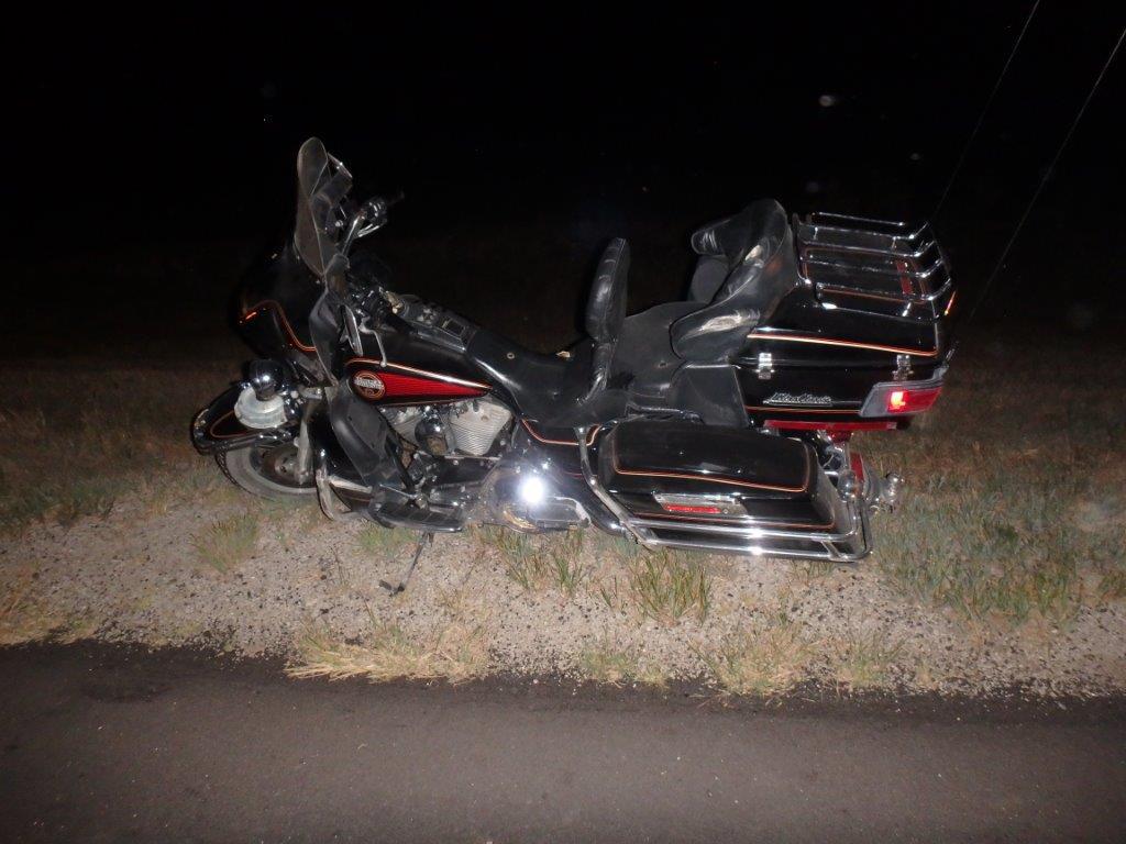 Rider Injured in Deer vs Motorcycle Crash