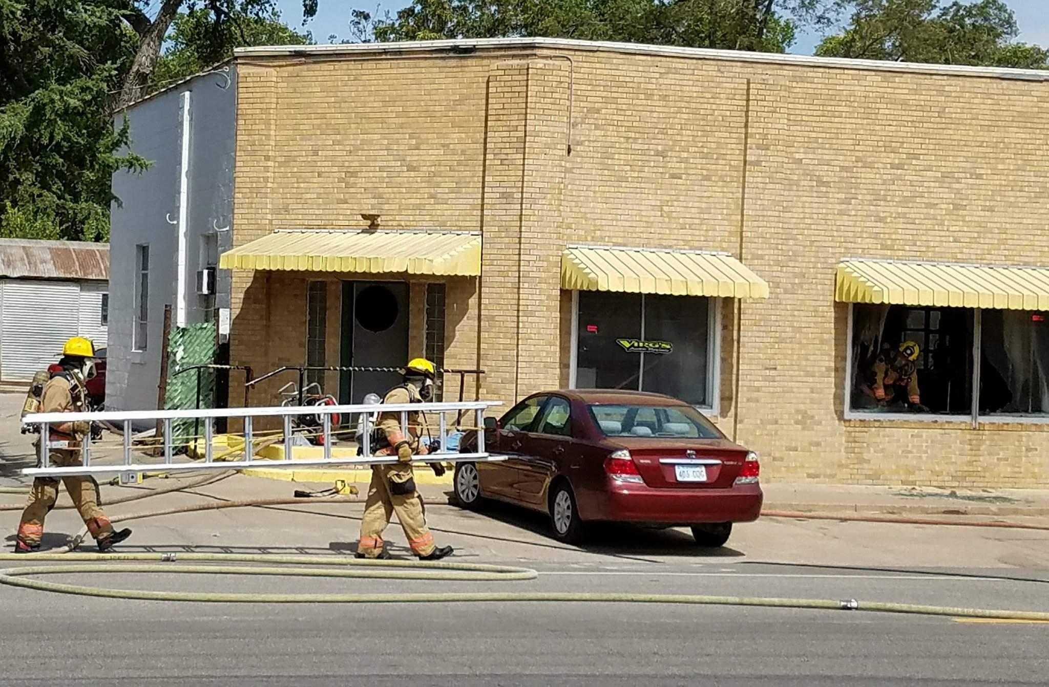 Friday Fire Damages Salina Auto Shop