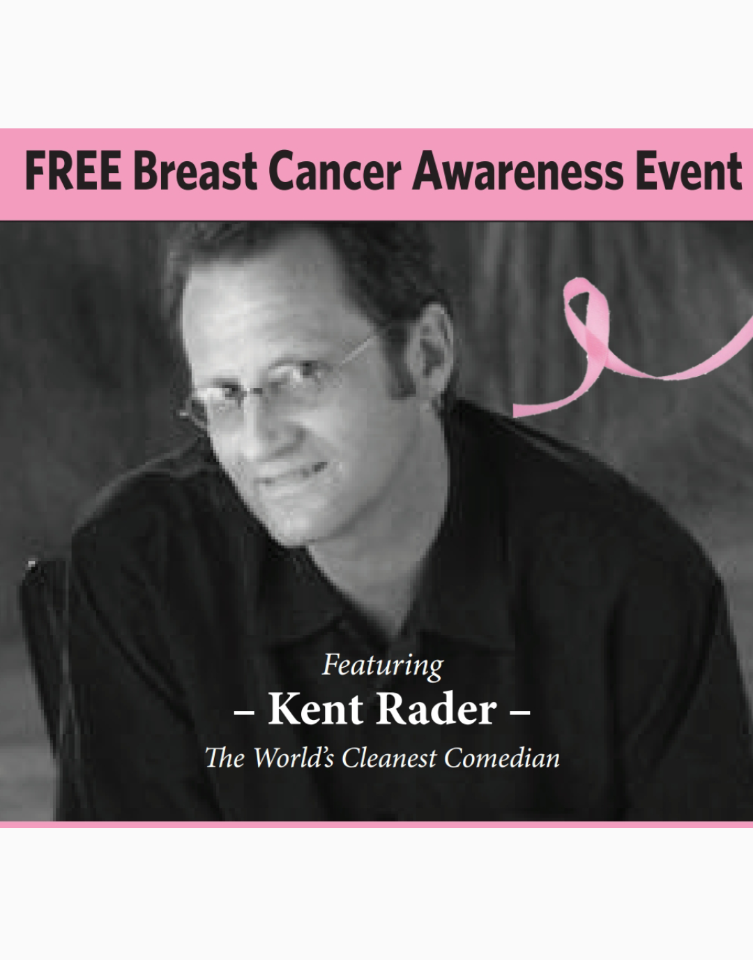 Comedian to Headline Cancer Event