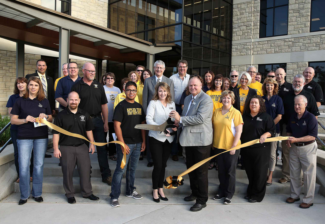 FHSU Dedicates New Center for Applied Technology