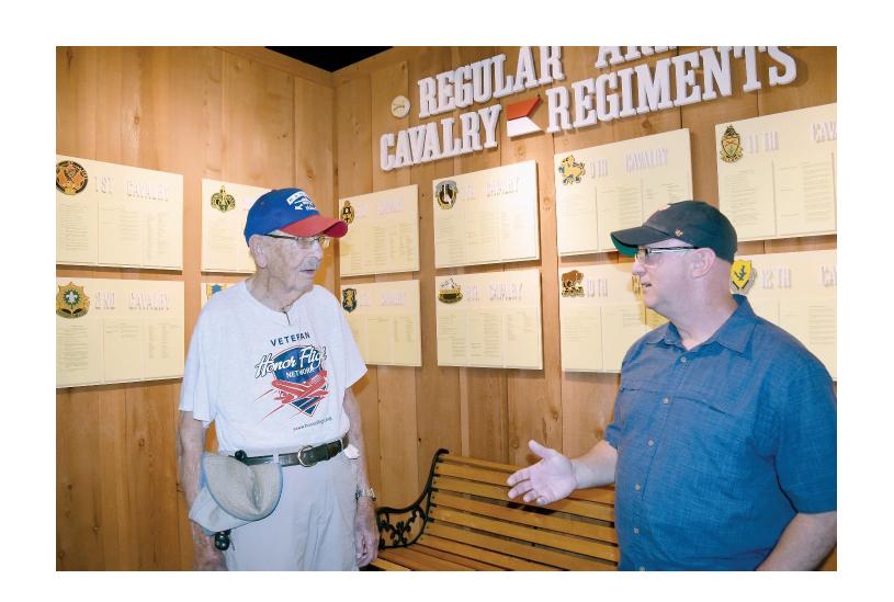 1st Infantry Division World War II Vet Visits Fort Riley