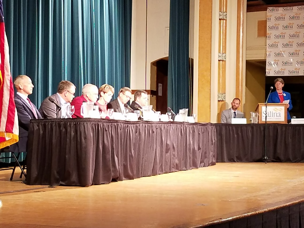 Candidates Answer Questions at Forum