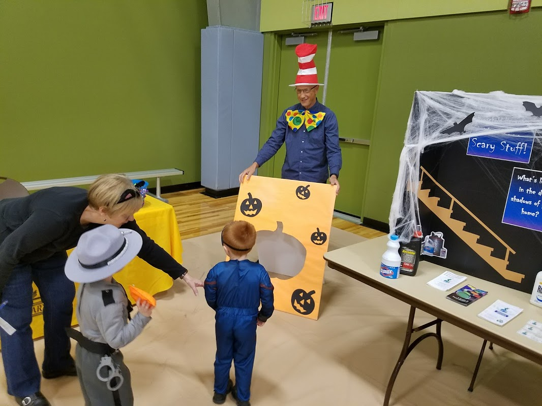 Fieldhouse Hosts Halloween Party