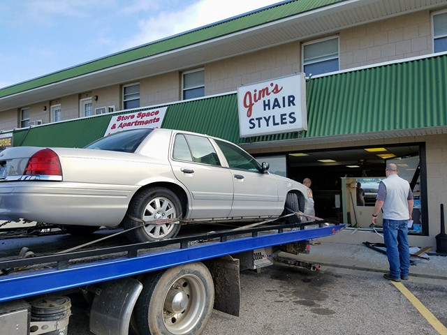 89-Year-Old Woman Crashes Into Business