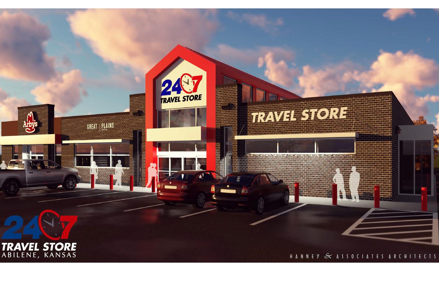 Abilene Travel Store Under Construction