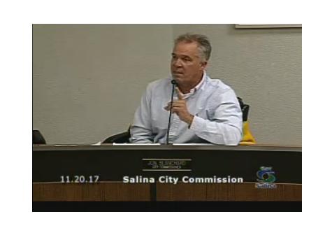 Salina City Commissioner Reprimanded