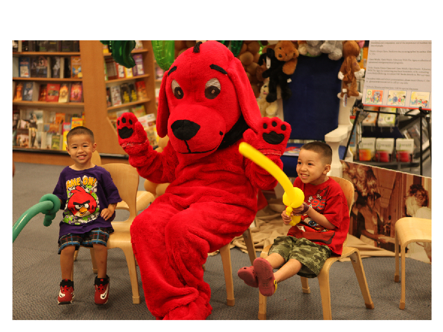 Clifford the Big Red Dog to Visit Mayor's Christmas Party