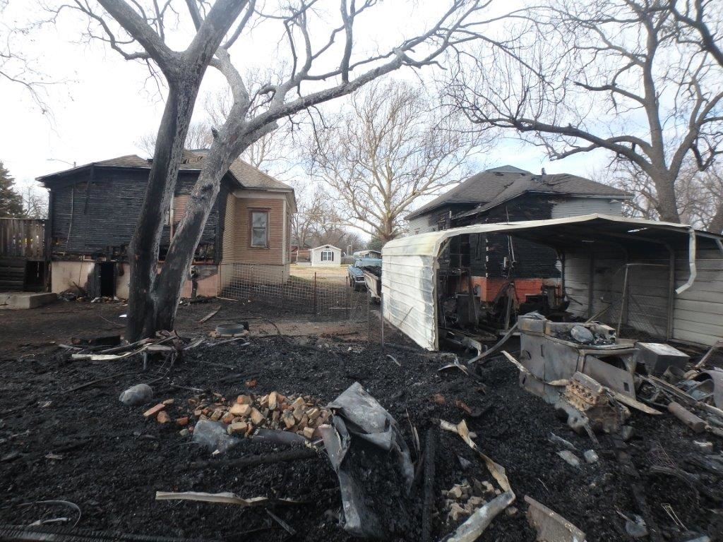 Gypsum Fire Damages 2 Homes