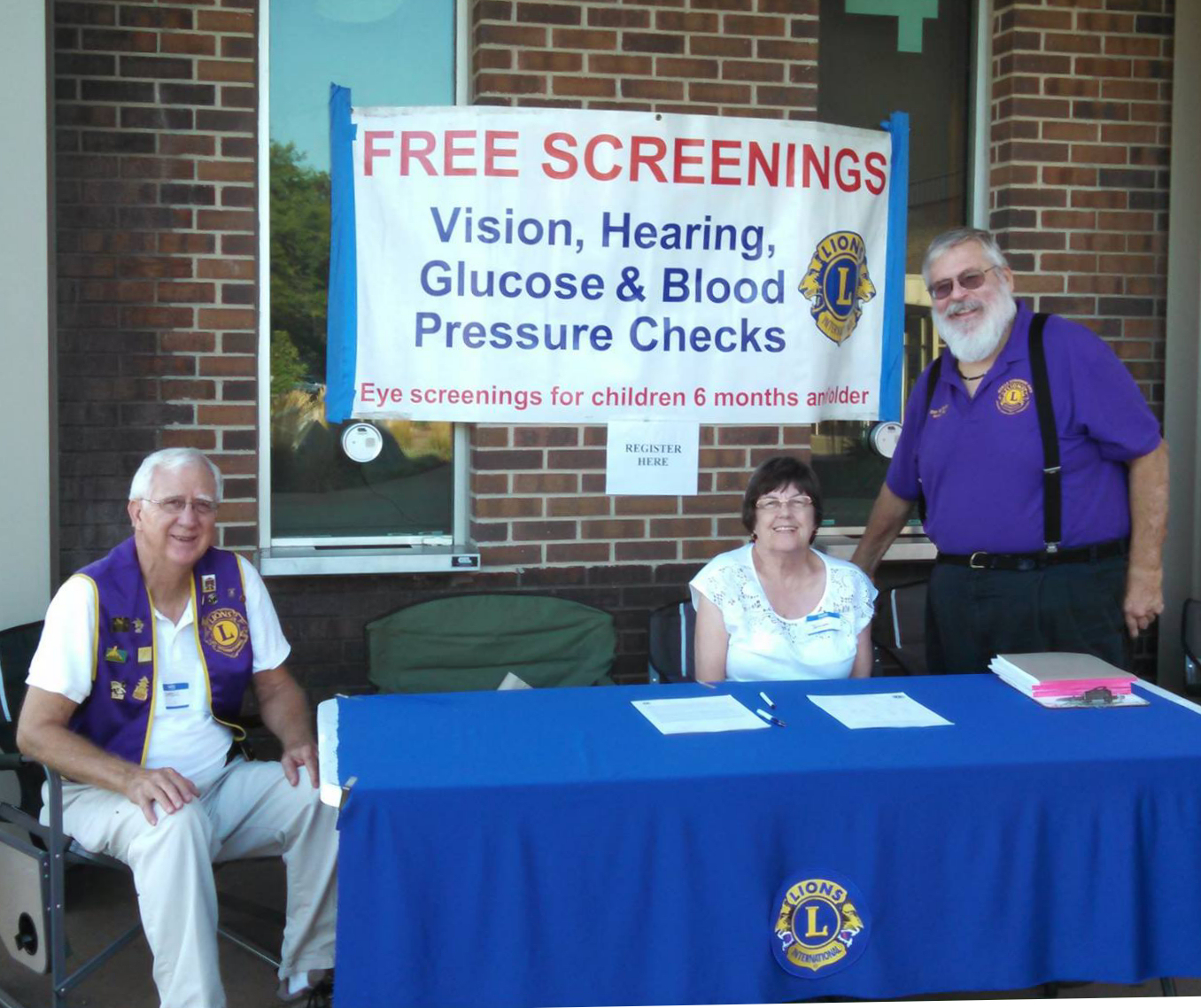 Vision Screening Event Planned