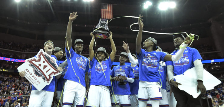 Jayhawks Fly Past West Virginia to Claim Big 12 Championship