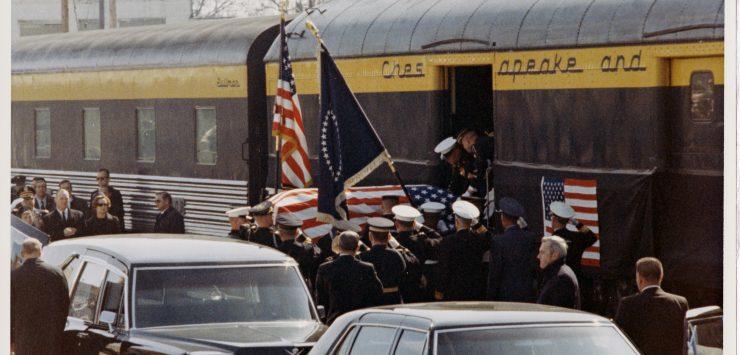 Bush Funeral Train Hearkens Back To Ike