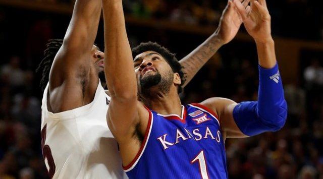 No. 18 Arizona State knocks off top-ranked Kansas 80-76