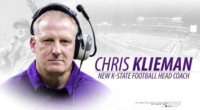 State hires Chris Klieman as its next head football coach
