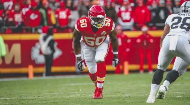 Justin Houston released by Kansas City Chiefs