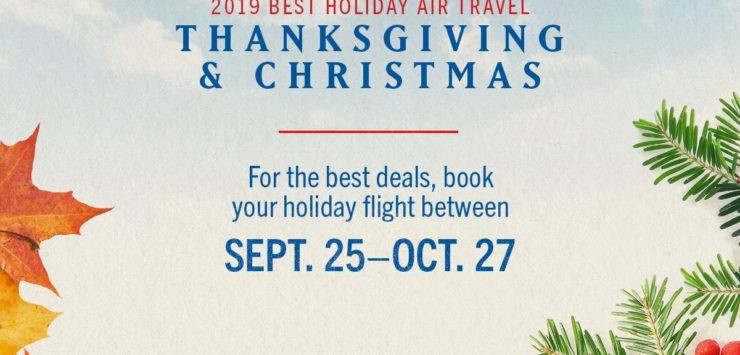 How Many Weeks To Christmas 2019.This Week Is Best Time To Start Booking Holiday Flights